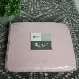 Home collection Fitted flannel twin size sheet